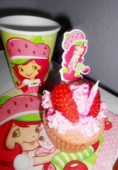 Strawberry Shortcake Cupcakes Are Just One Example Of Creative Sweets That Can Be Made For Celebrations