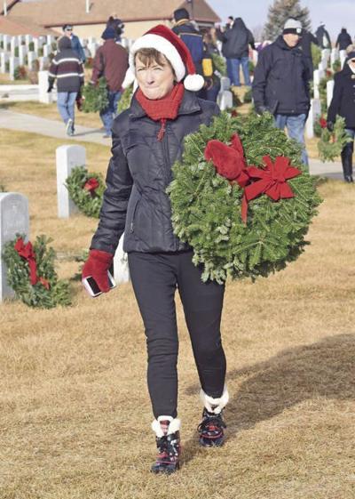 Volunteers invited to remove wreaths at North Dakota Veterans Cemetery
