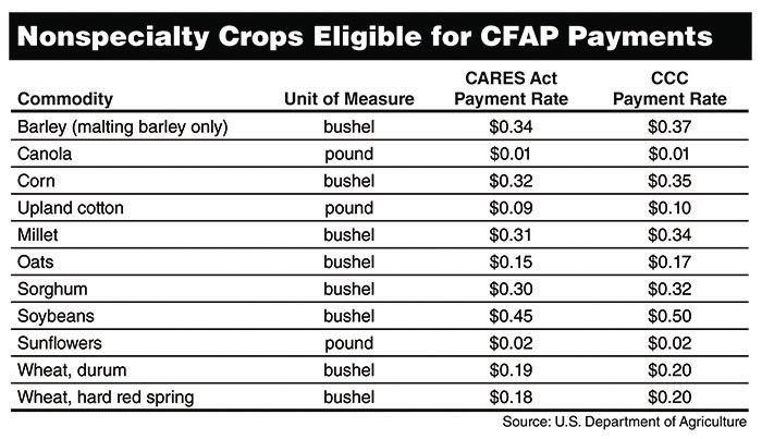 USDA releases Coronavirus Food Assistance Program payment regulations