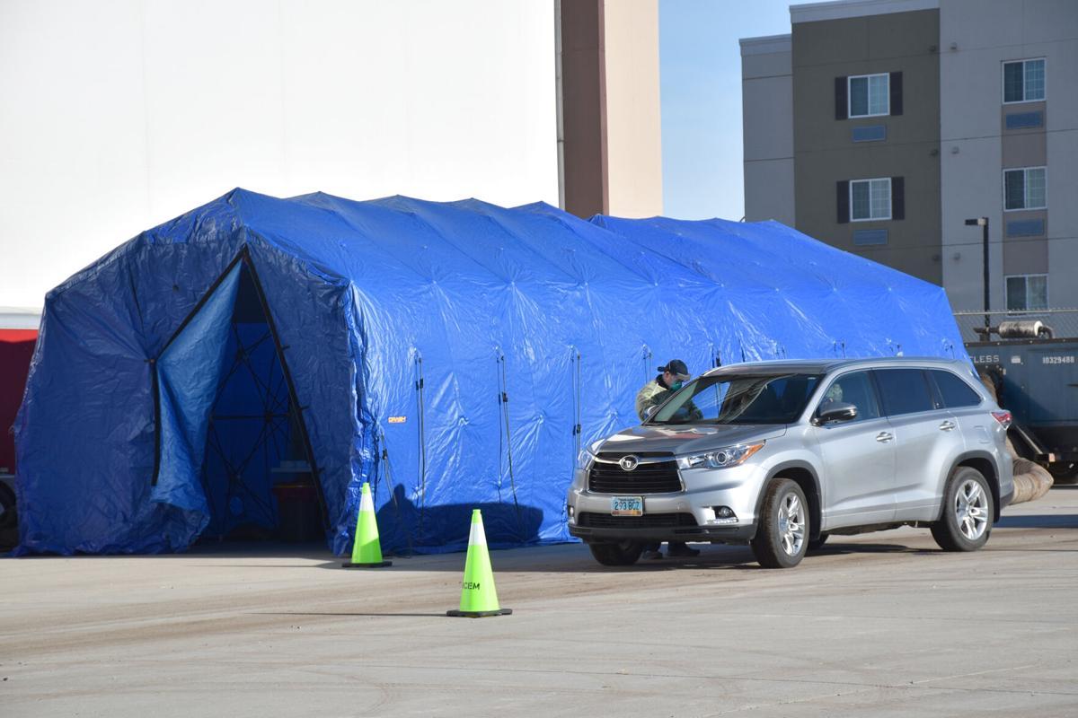 First community rapid COVID-19 testing held in Williston