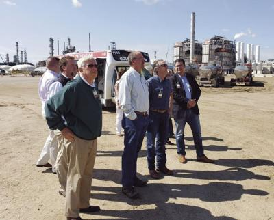 state officials tour petrochemicals in Alberta