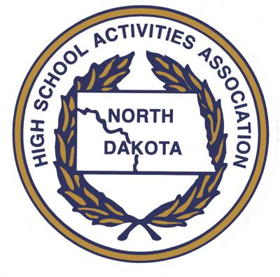 NDHSAA logo