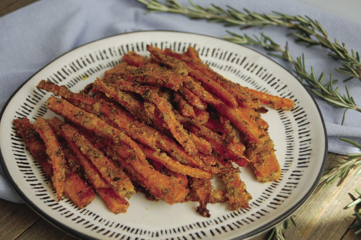 Parmesan Rosemary Carrot Fries