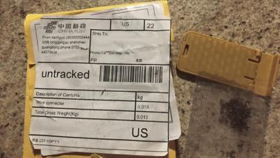 Residents should report unsolicited seeds coming from China