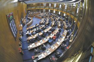 Pay for North Dakota lawmakers' absent days during legislative session totals $56K