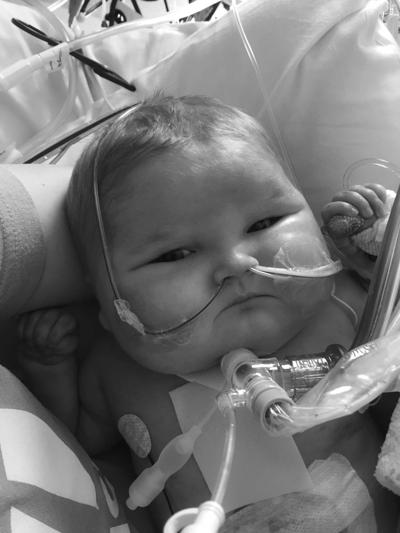 Gunnar Thomas Oxendahl, infant