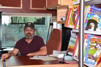 Bookmobile takes library on the road