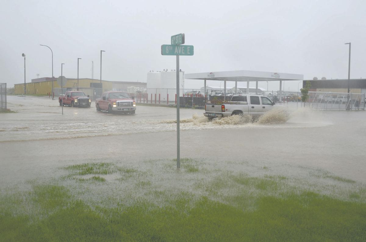 Tuesday rain brings flooding throughout area