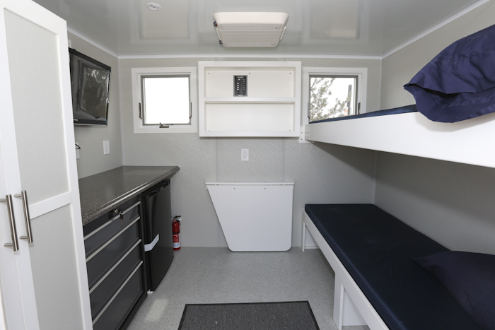 The Inside Of A Vec Housing Unit Is Seen In The Walmart Parking Lot On  Thursday. The Williston Store Is The Only Walmart In The Country To Sell  The Housing ...