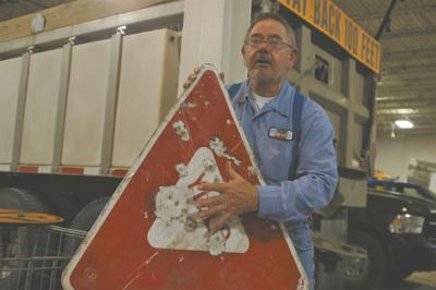 ND taxpayers foot the bill when vandals shoot road signs
