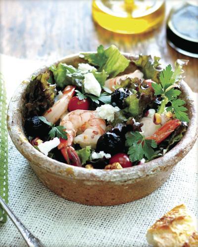 Shrimp and Feta Salad