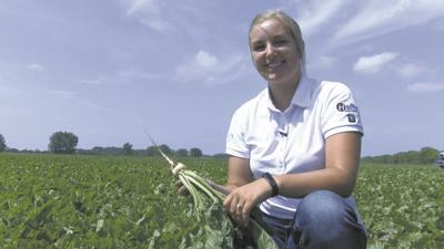 Part-time ND farmer, agronomist plants her own crop