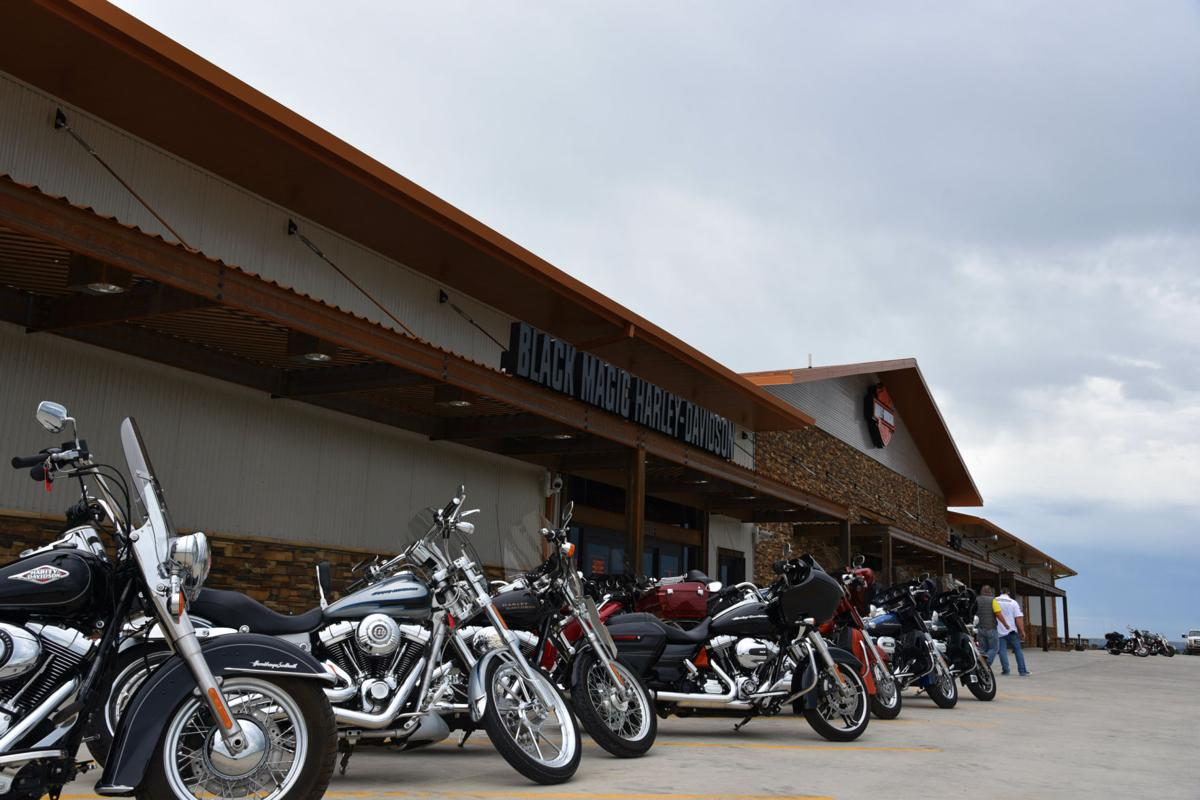 Bill and Brenda Houim, owners of Magic City Harley-Davidson in Minot, recently opened the doors to ...