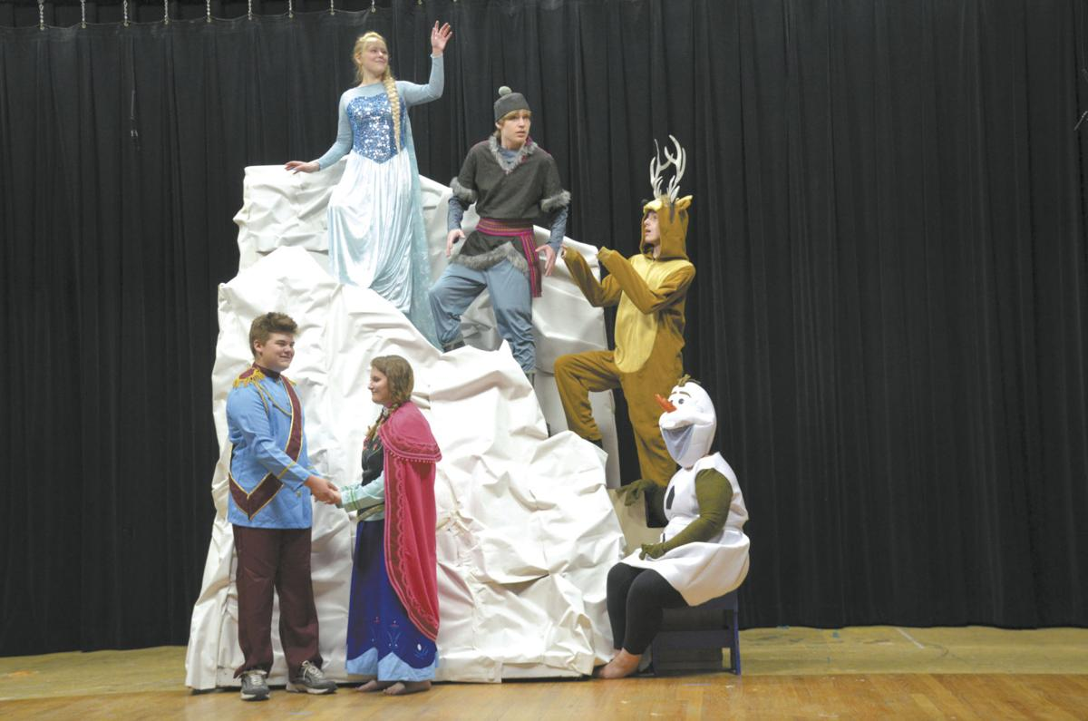 Youth Education On Stage to perform Frozen Jr  as season