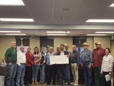 Mckenzie county emergency services grant 2019 from ConocoPhillips Phillips