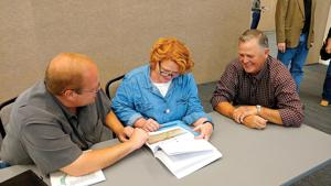 Heitkamp hears about drought woes during listening session in North Dakota