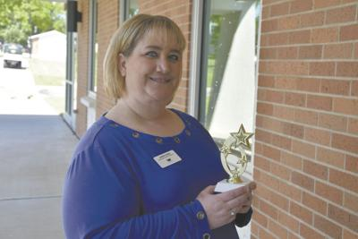Andrea Carver wins Most Dedicated director of financial aid award