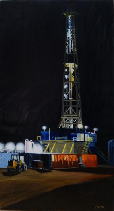 Oil on Oil