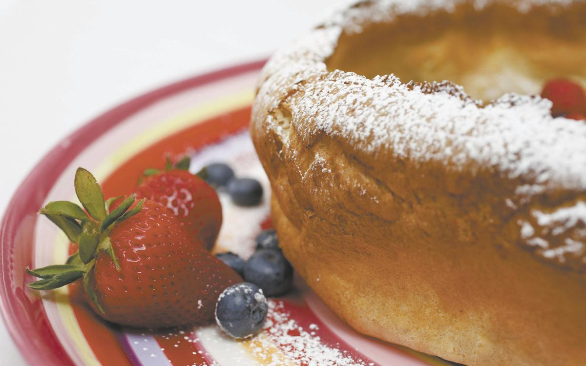 No matter its origin, the Dutch Baby Pancake is delicious ...