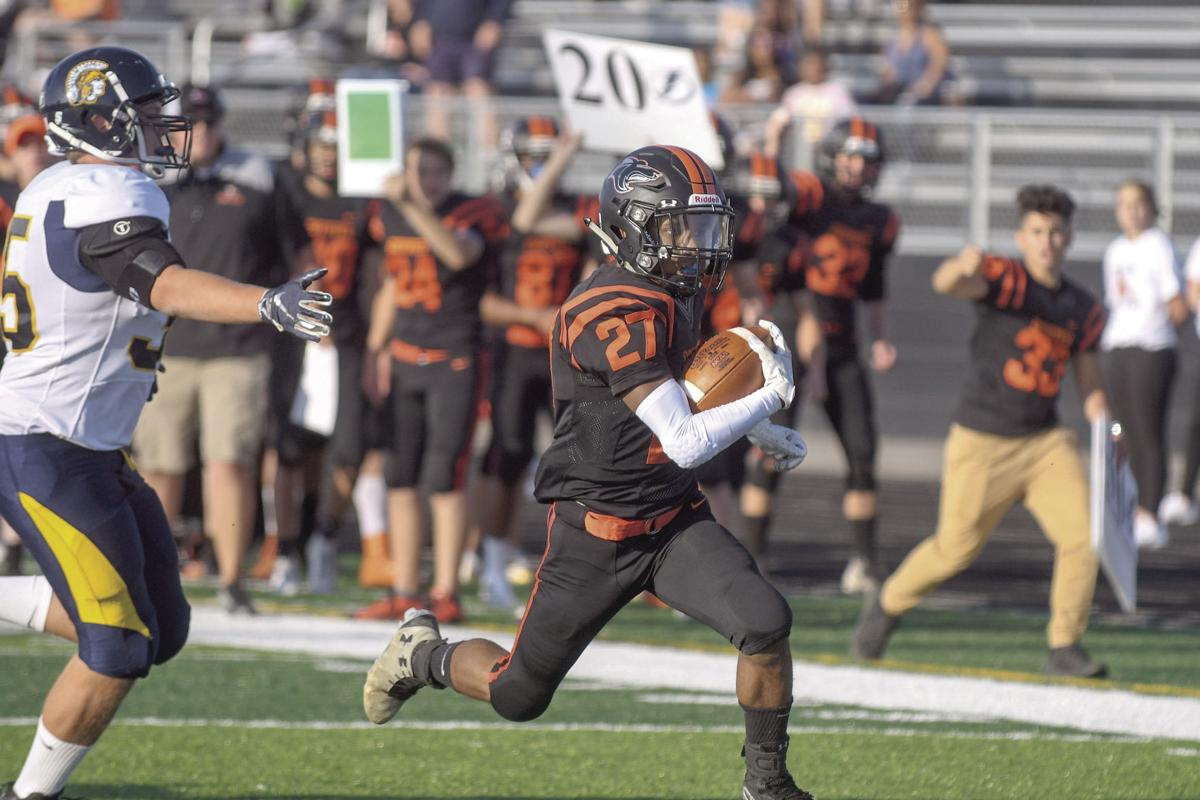 Coyotes top Fargo North 40-8 in home opener | Local Sports