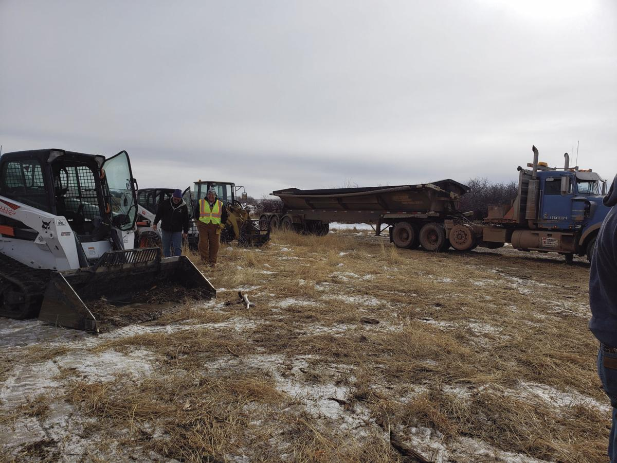 NDPC industry day brings big equipment to lewis and clark wildlife management area