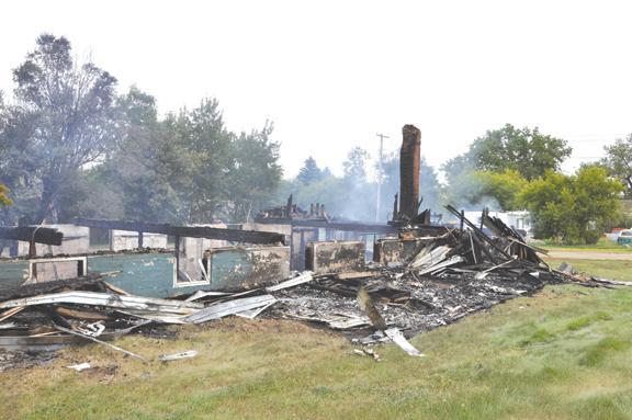 White Earth church burns to the ground: First Lutheran ...