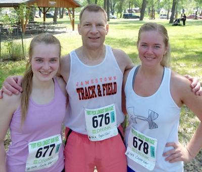 Longest Dam Run race results