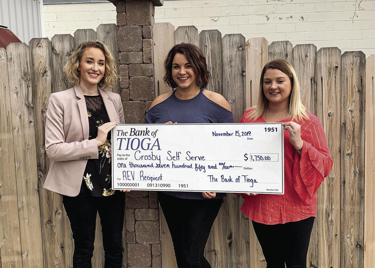 Local bank distributes $10,000 to five community businesses