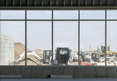 With four months to go, Williston Basin International Airport taking shape