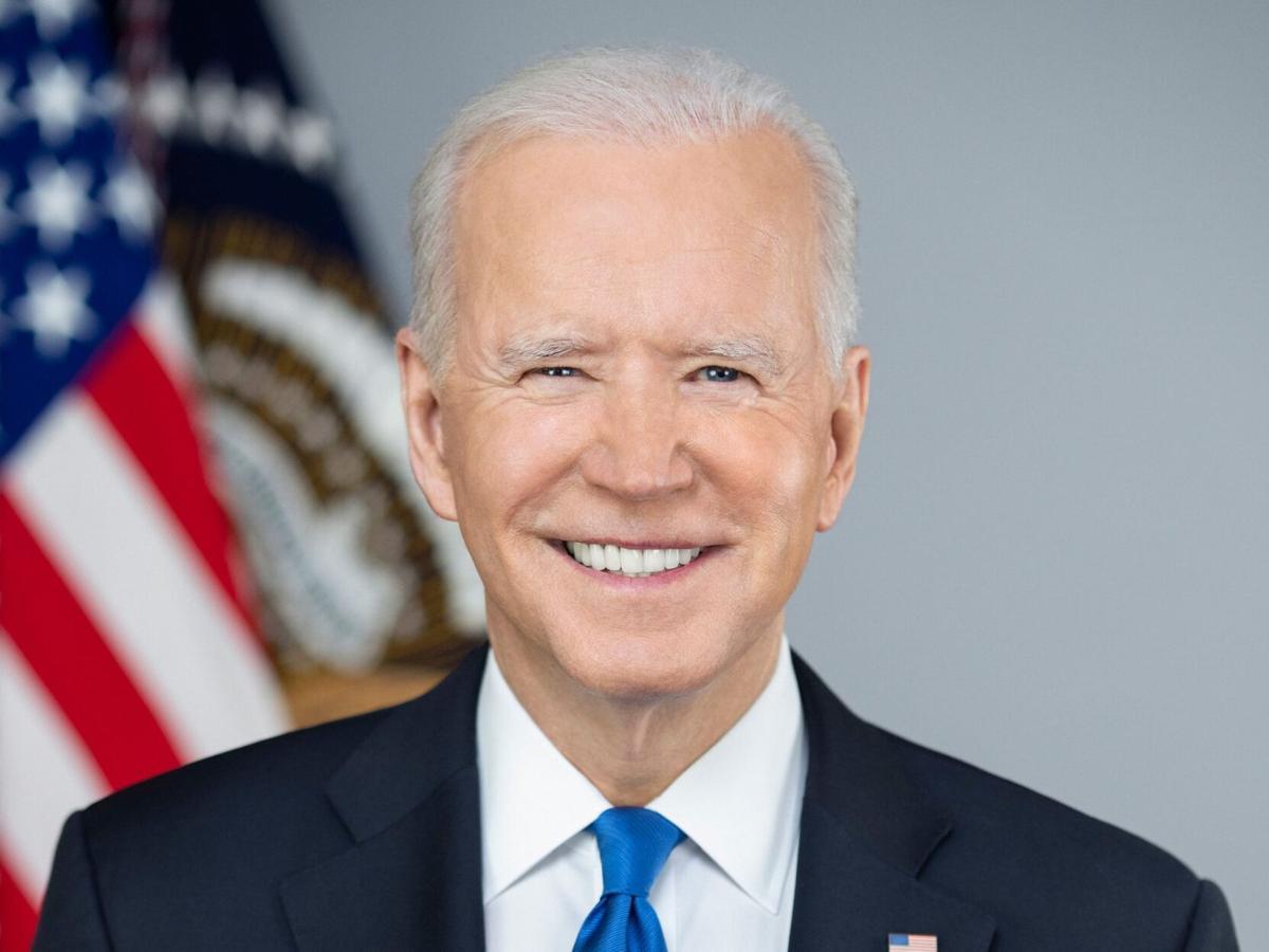 President Joe Biden mug shot
