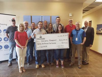 Equinor donation to emergency management 2019