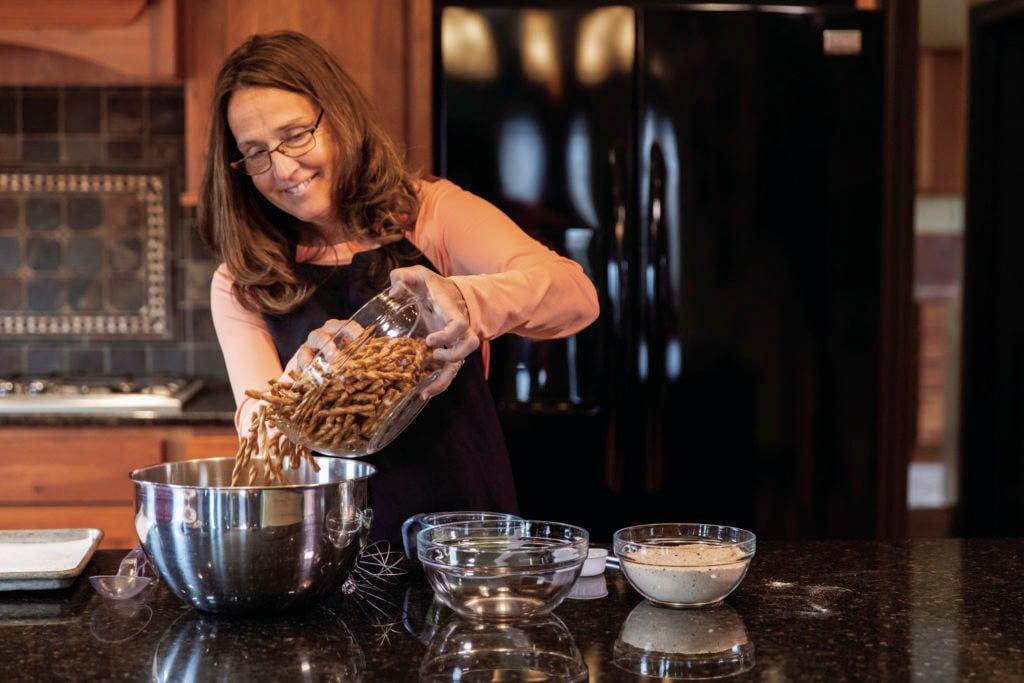 'Dot' keeps tinkering for the sweet spot in growing pretzel line