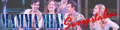Mamma Mia Headline Banner