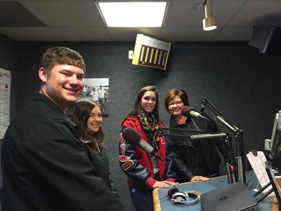 KMS Marching Saints visit the Q102 Morning Show  | Q102