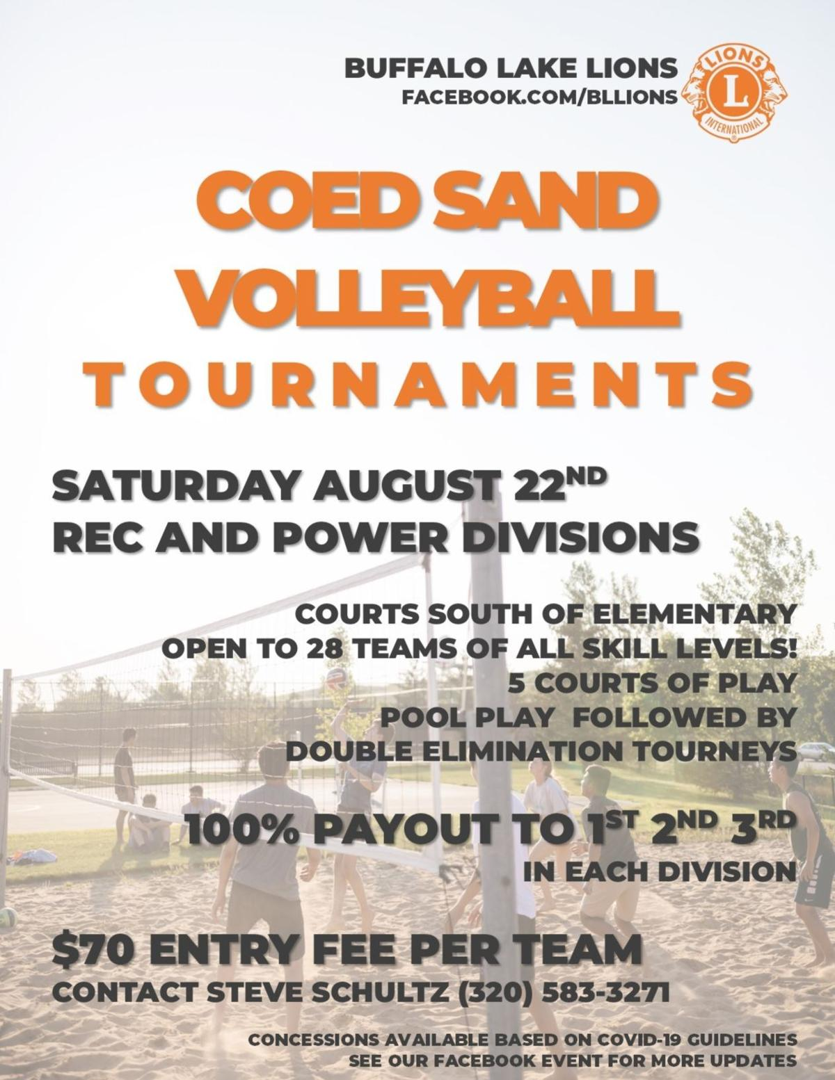 Coed Sand Volleyball Tournament
