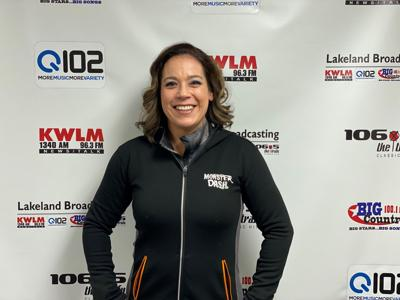 Maria Loerzel ready to run her 1st marathon