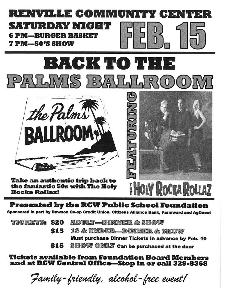 """Back to the Palms Ballroom"""