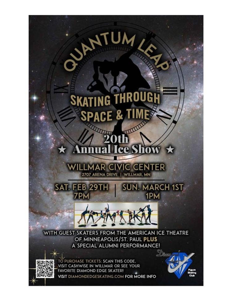 """Quantum Leap"" Skating Event"