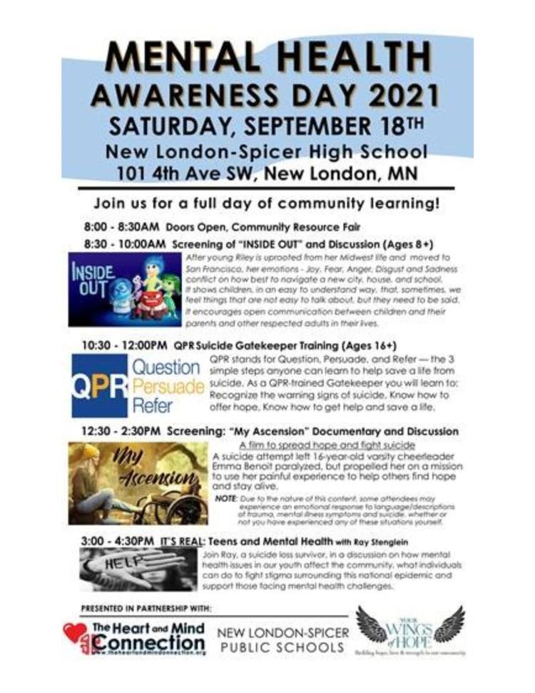 Mental Health Awareness Day 2021