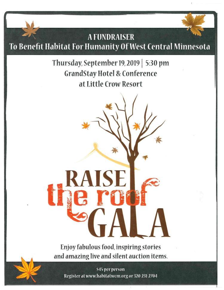 Raise the Roof Gala