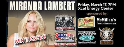 Win Miranda Lambert tickets