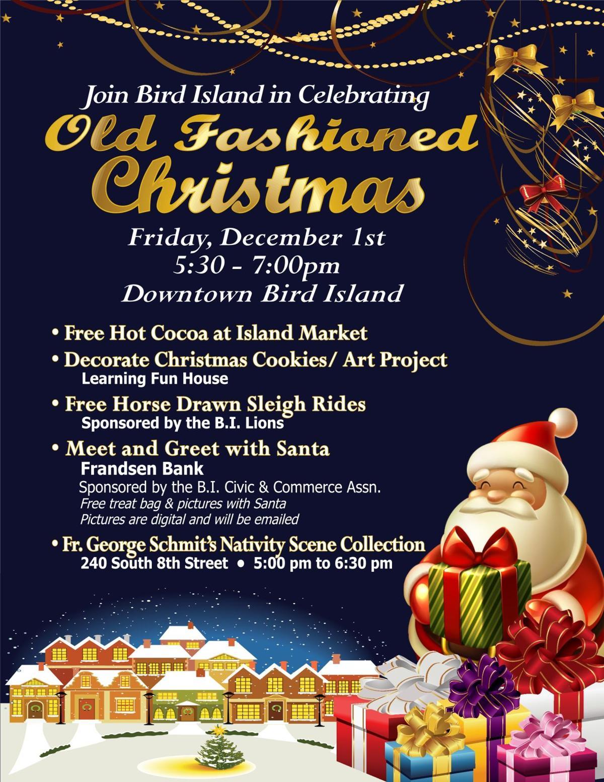 Old Fashioned Christmas | Calendar | willmarradio.com