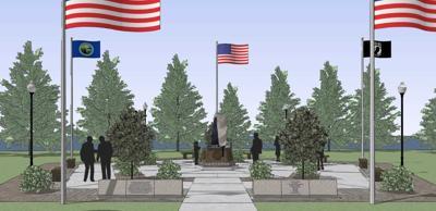 Willmar Flags of Honor Groundbreaking