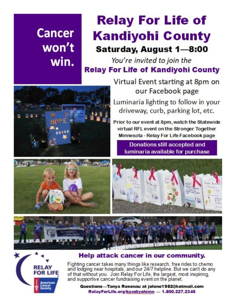 Kandiyohi County Relay for Life