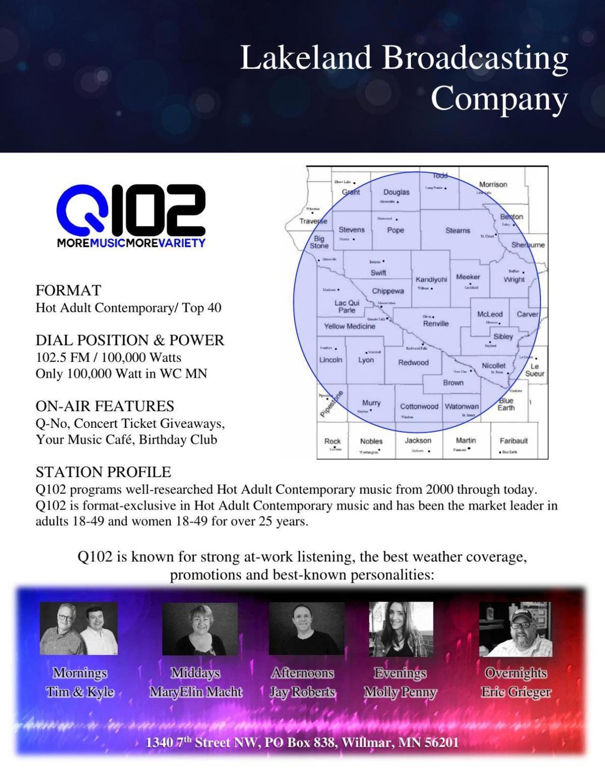 KQIC Station Profile