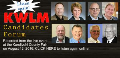 Kandiyohi County Fair Candidates Forum BANNER
