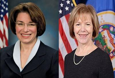 Sens. Klobuchar, Smith