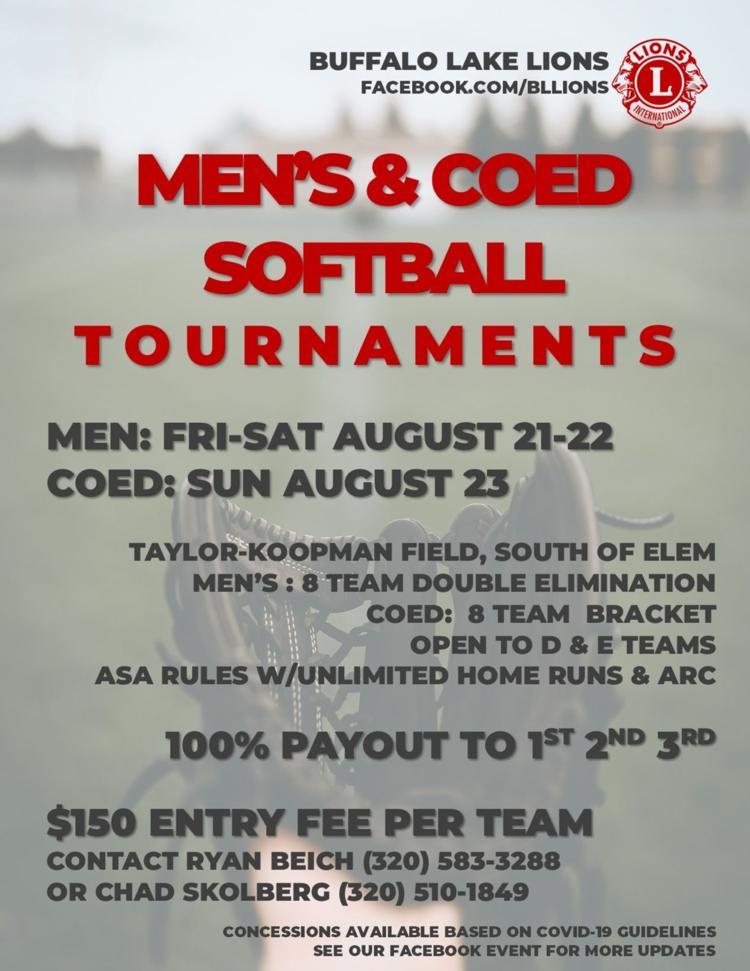 Men's & Coed Softball Tournaments