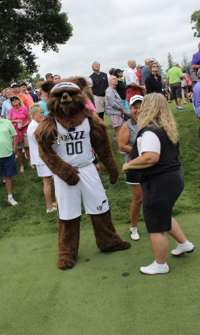 Utah Jazz Bear