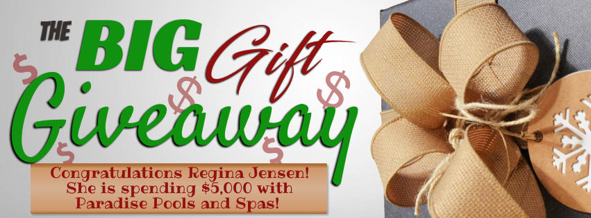 Regina Jensen won a $5,000 shopping spree from The Train and The Big Gift Giveaway!